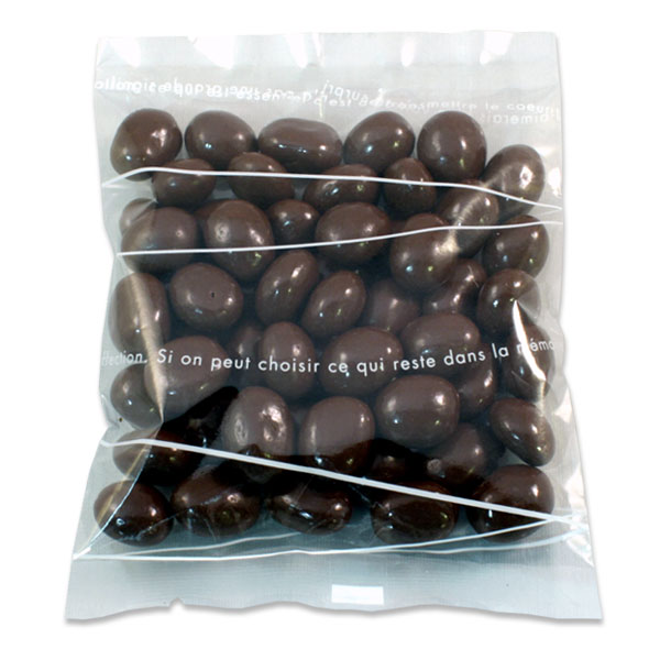 和樂ドリップバッグコーヒー&珈琲豆チョコギフト~気くばり~の珈琲豆チョコは80g
